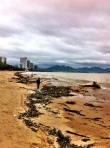 Nha Trang efter en mindre tyfon