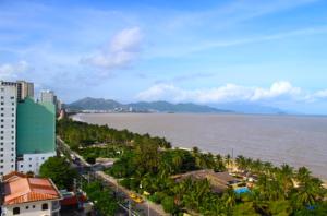 Nha Trang udsigt fra hotellet