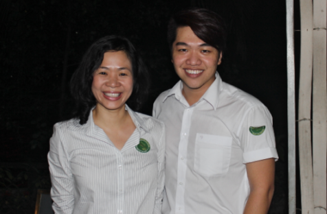 Ms Yen og Tommy
